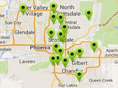 map of stores that carry our products