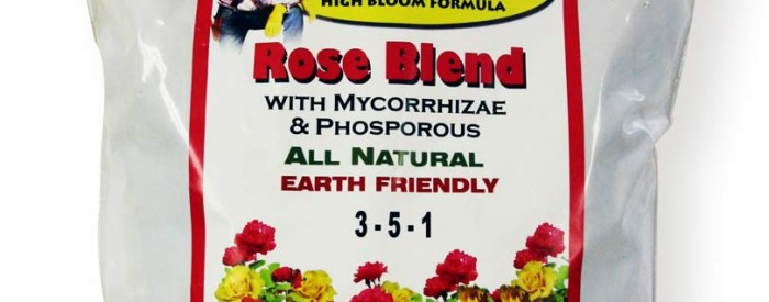 Earth Friendly Plant Food for Roses